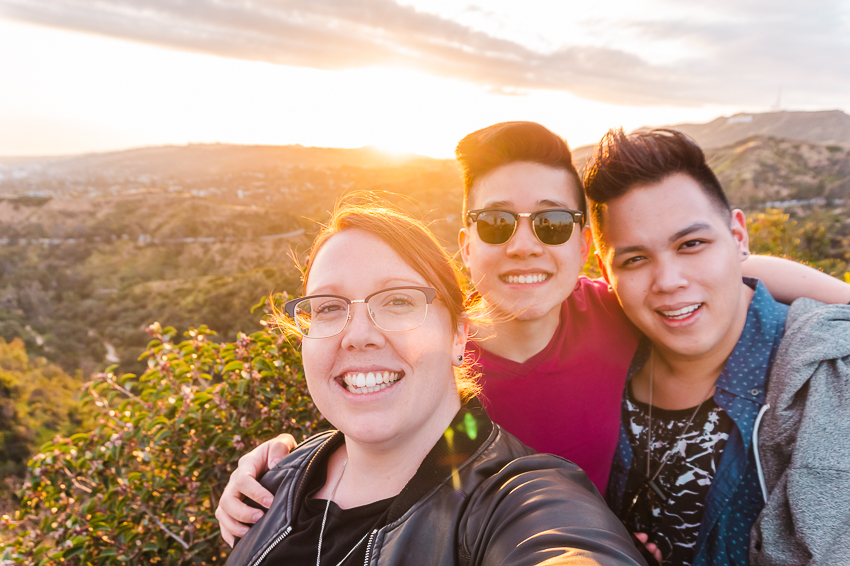 20 travel memories in 30 years: visiting LA with friends