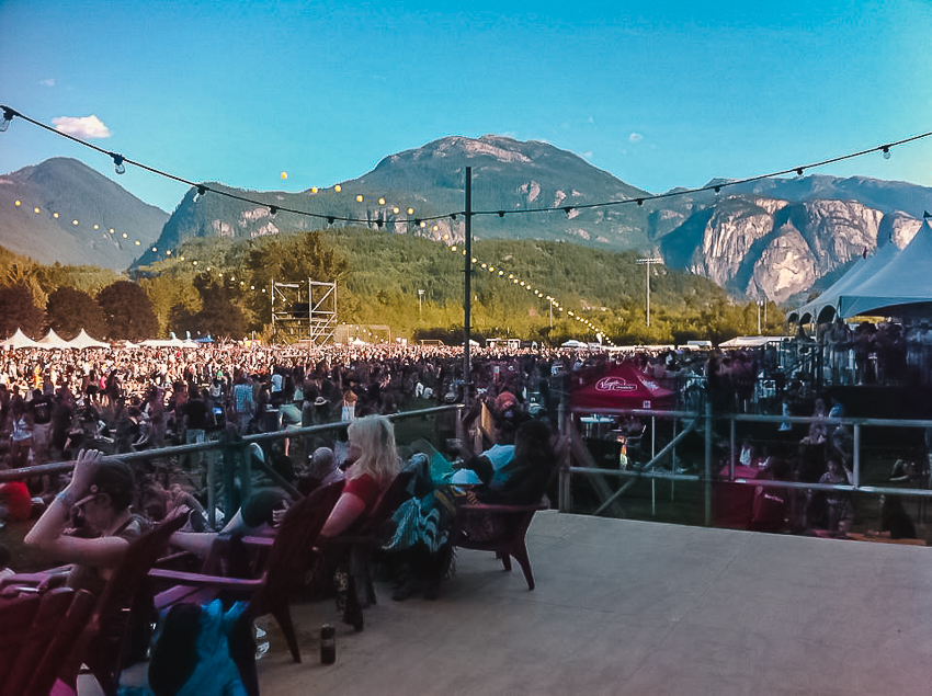 20 travel memories in 30 years: Squamish Valley Music Festival