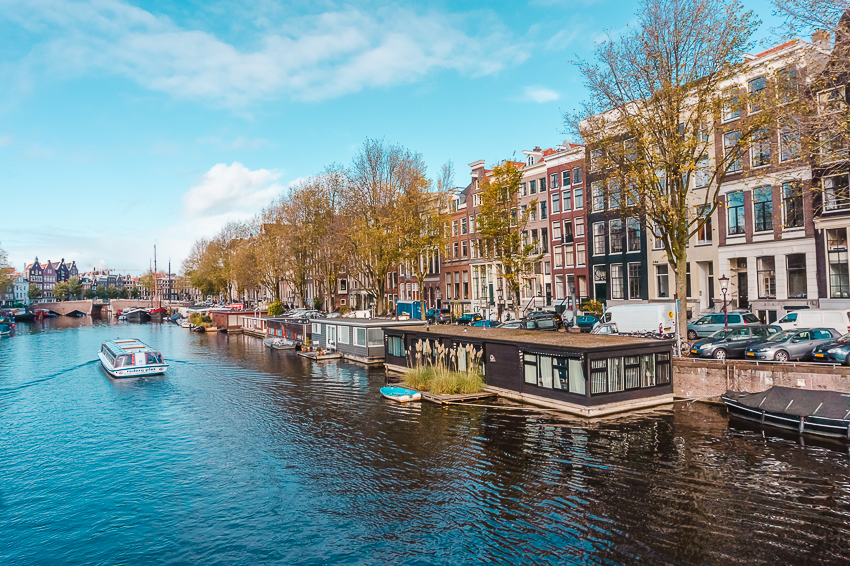 Three Days in Amsterdam: do a canal cruise