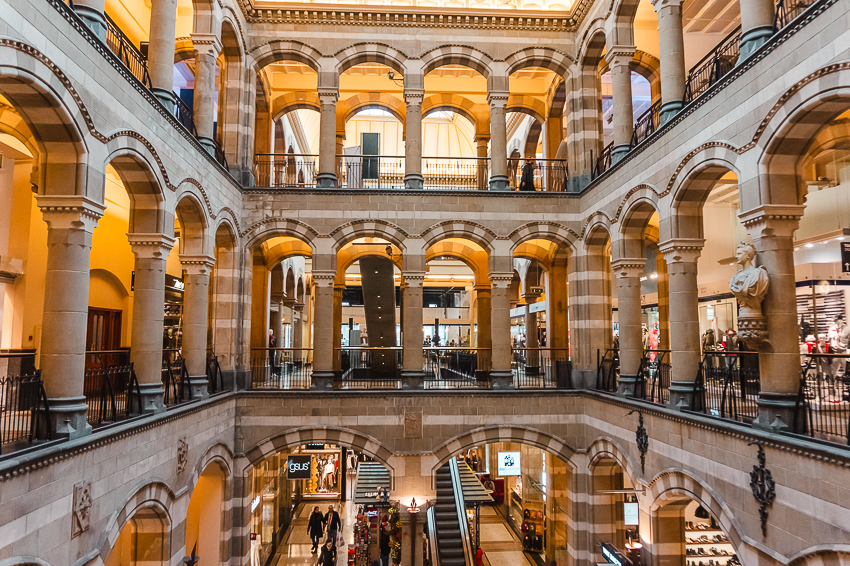 Three Days in Amsterdam: visit Magna Plaza Shopping Centre