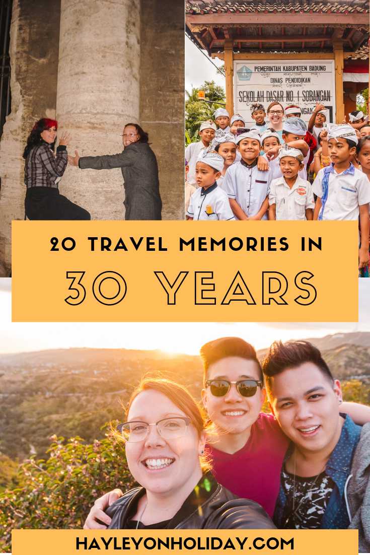 20 travel memories in 30 years. Come for a walk down memory lane with me, as I share my most unforgettable travel moments across four continents.