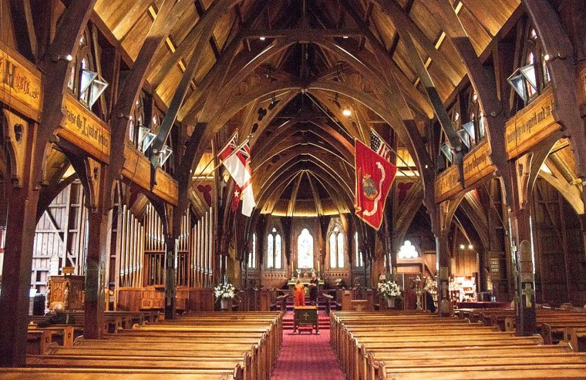 Old St Paul's in Wellington, New Zealand
