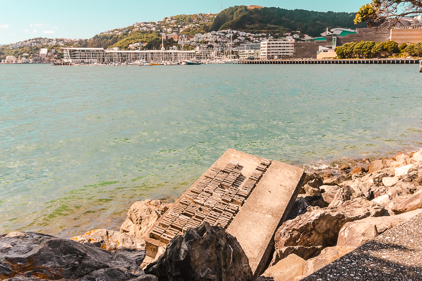 Things to do in Wellington: follow the Writer's Walk