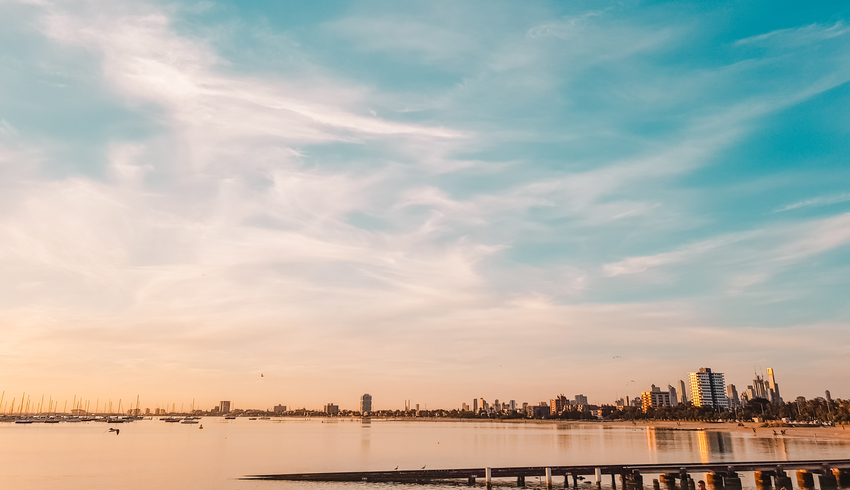 Sunsets in St Kilda, Melbourne