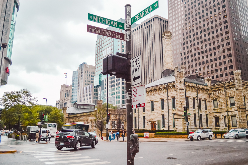 Things to do in Chicago: stroll down Michigan Avenue/Magnificent Mile