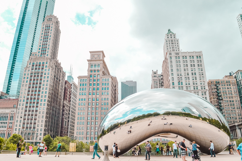 Things to do in Chicago: visit Millennium Park