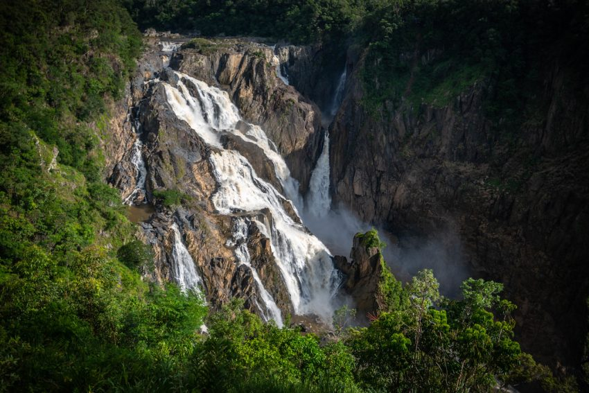 Things to do in Cairns - Barron Falls near Cairns, Australia