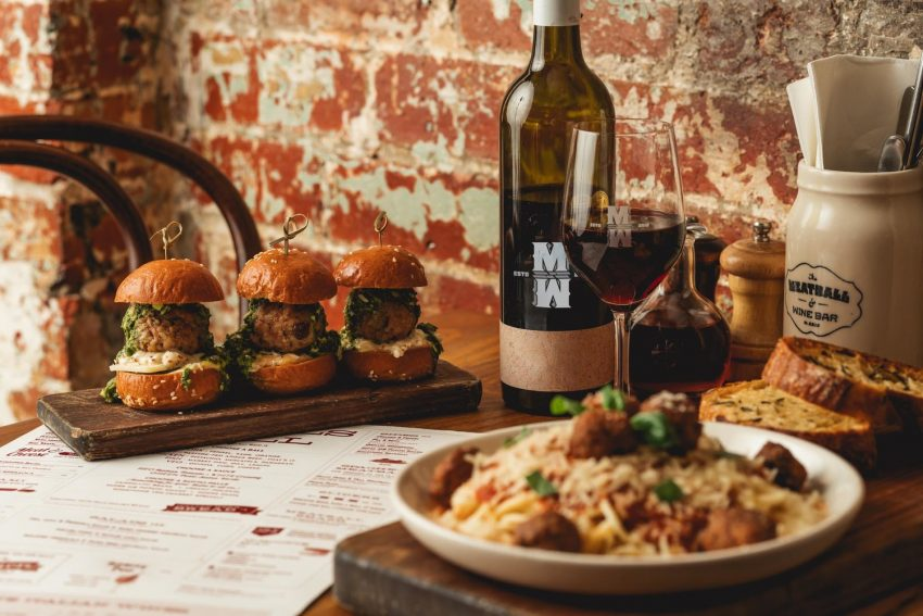One of the best Richmond restaurants in Melbourne: Meatball and Wine Bar
