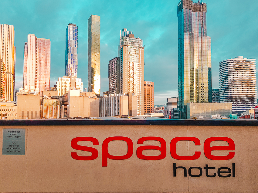 Where to stay in Melbourne - Space Hotel