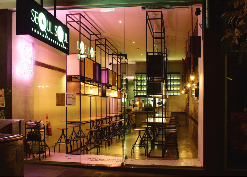 One of the best Richmond restaurants: Seoul Soul on Victoria Street