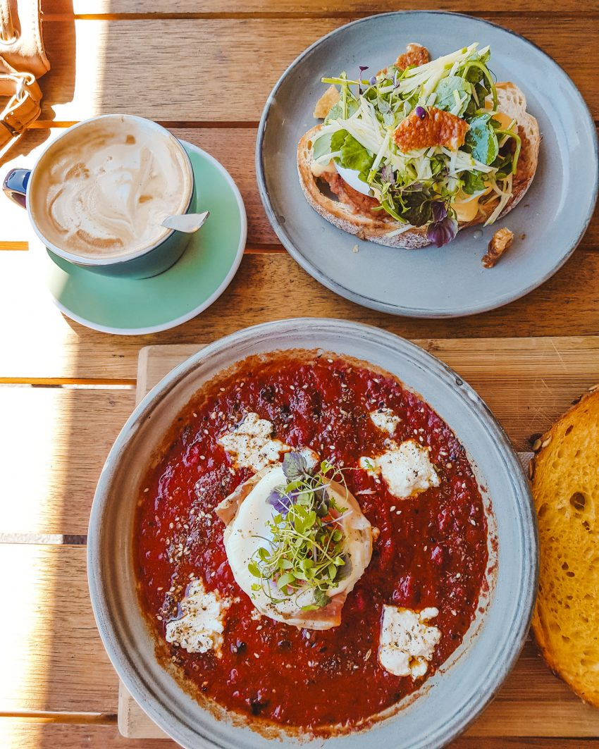 Brunch at Touchwood in Richmond, Melbourne
