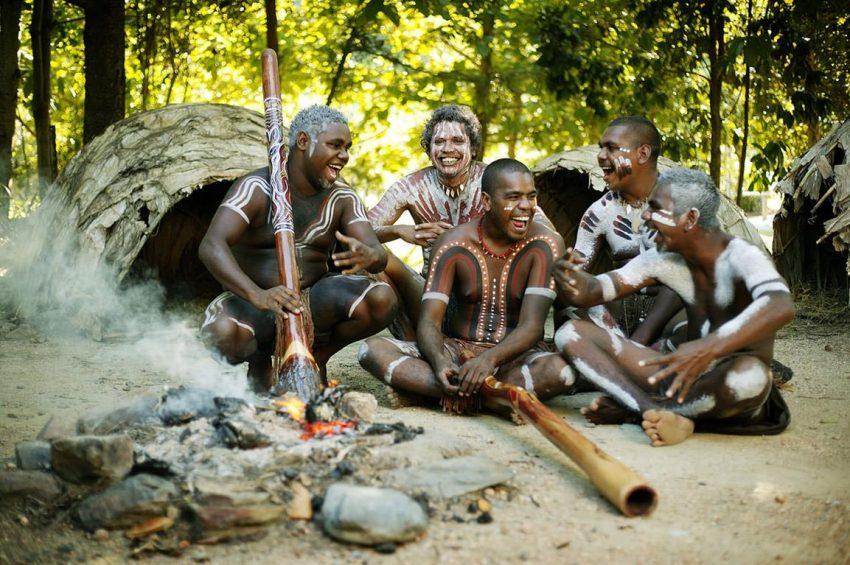 Tjapukai Cultural Park in Cairns, Australia
