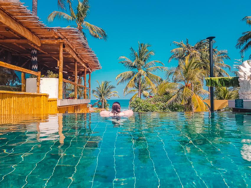 Enjoying life at Bali Mandira in Legian