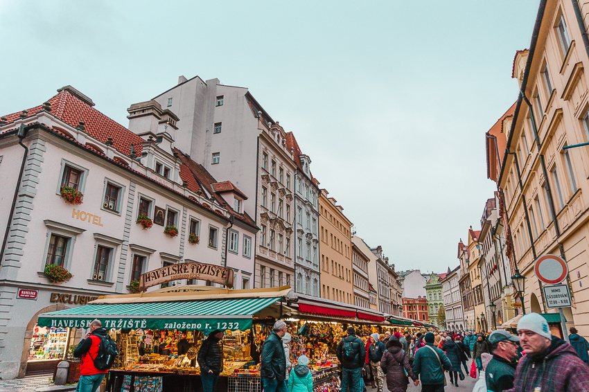 Things to do in Prague - visit Havelsky Market