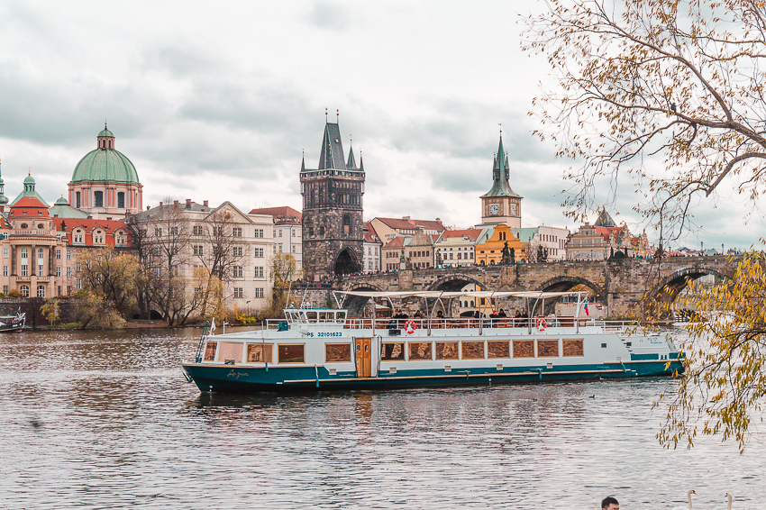 Things to do in Prague - do a river cruise
