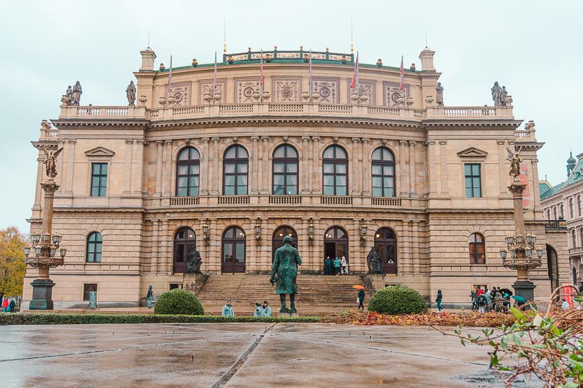 Rudolfinum in Prague, Czech Republic
