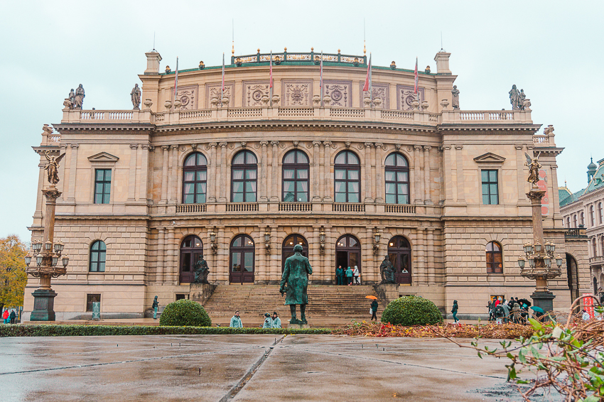 Rudolfinum in Prague, Czech Republic