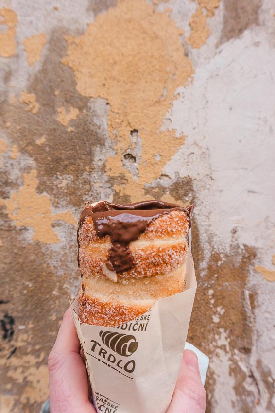 What to eat in Prague - trdelnik