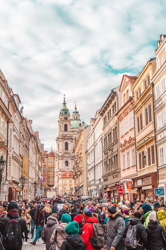 Things to do in Prague - visit Mala Strana, or the Lesser Town