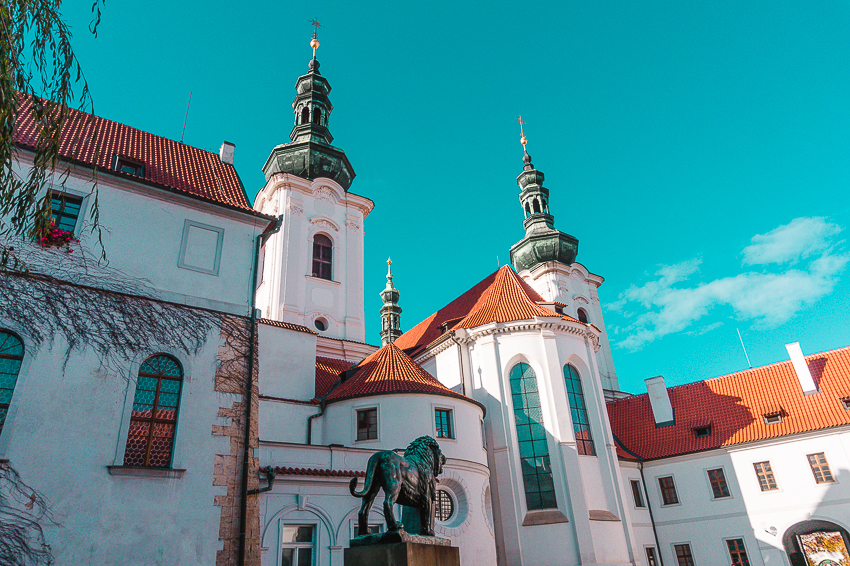 Strahov Monastery in Prague, Czech Republic