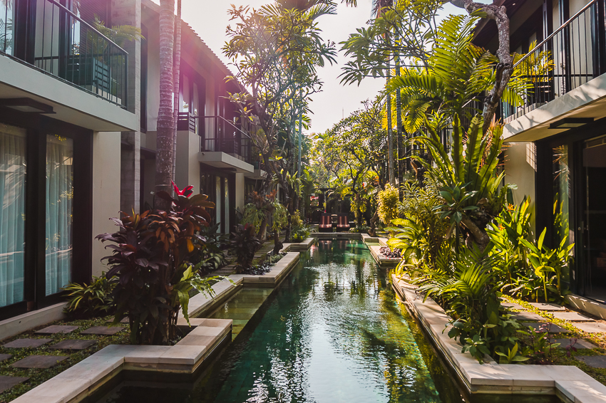 Where to stay in Sanur: the villas at S'cape.