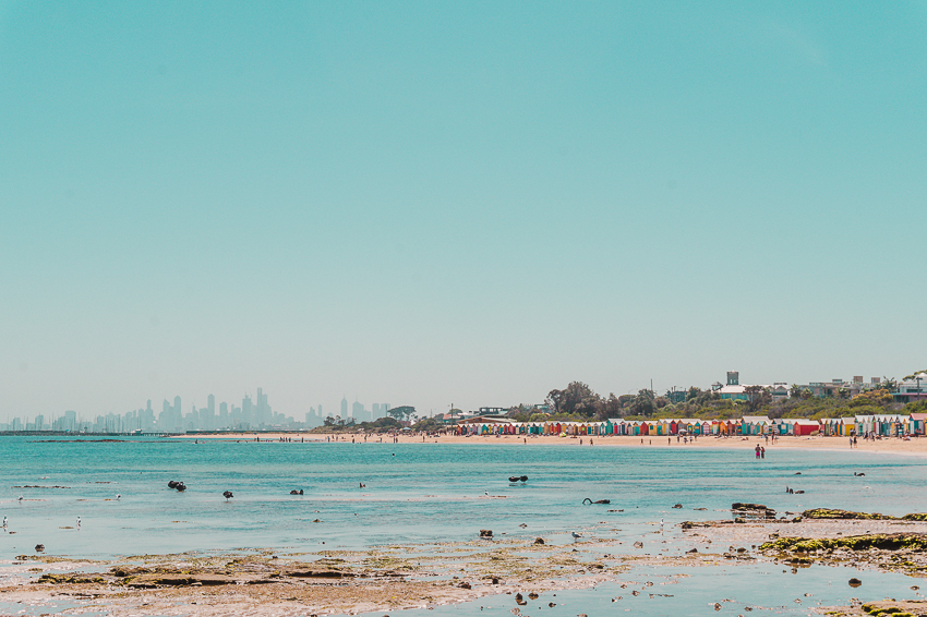 Free things to do in Melbourne: head to Brighton Beach