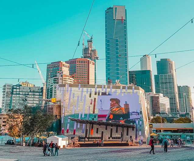 Fed Square, one of the best free things to do in Melbourne.