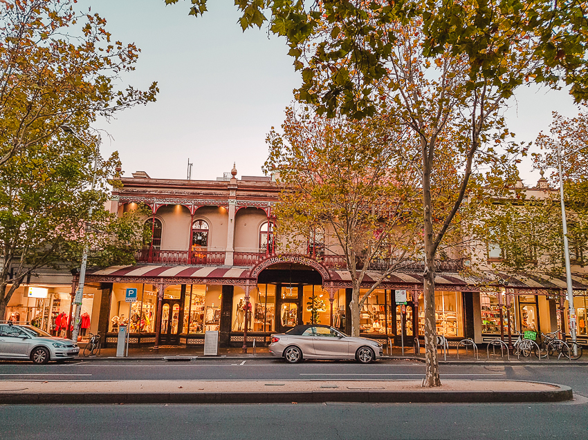 Dining out on Lygon Street in Melbourne, Australia