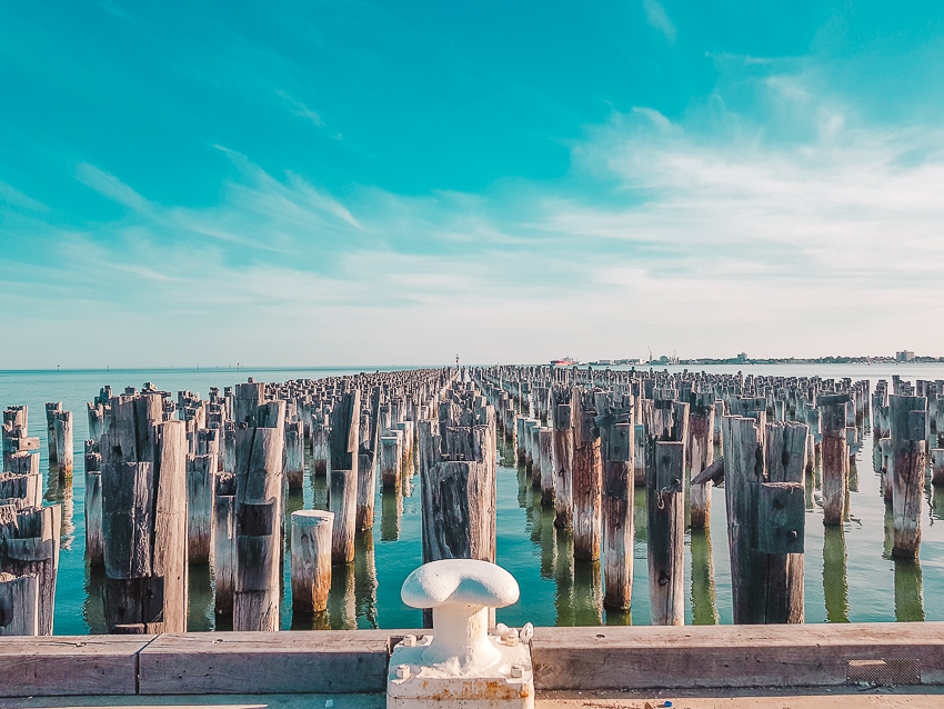 Free things to do in Melbourne: visit Princes Pier in Port Melbourne