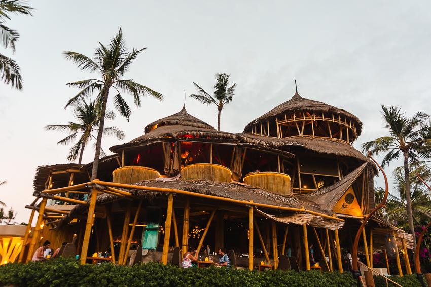 Azul Beach Club at Bali Mandira in Legian, Bali, Indonesia