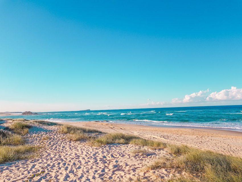 Maroochydore Beach on the Sunshine Coast in Queensland, Australia