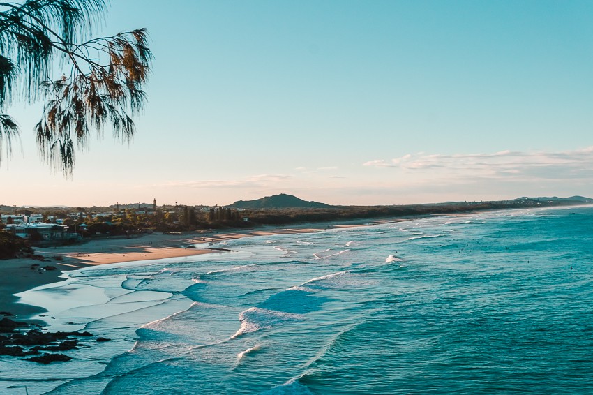 Coolum Beach, one of the best places to visit on the Sunshine Coast in Queensland, Australia