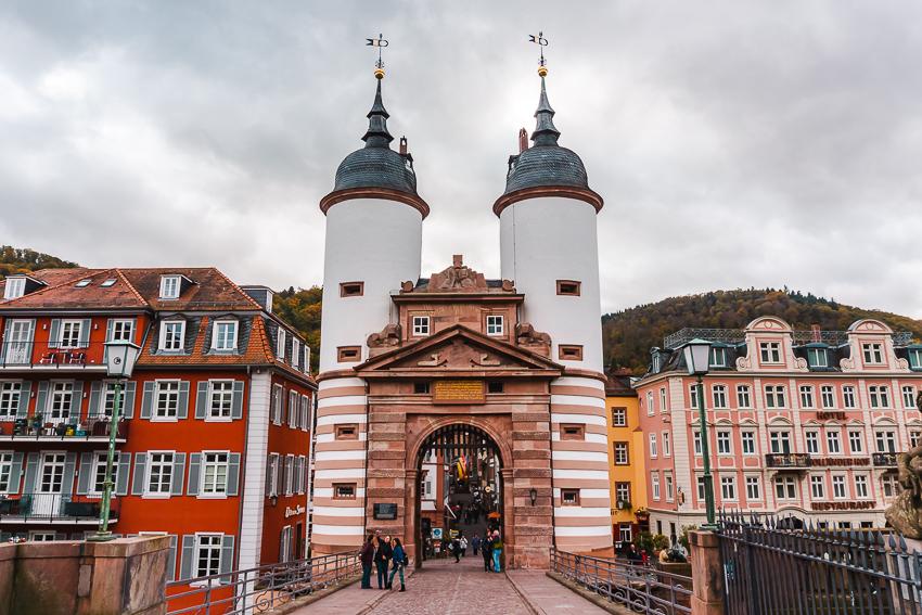 Old Bridge Heidelberg entrance