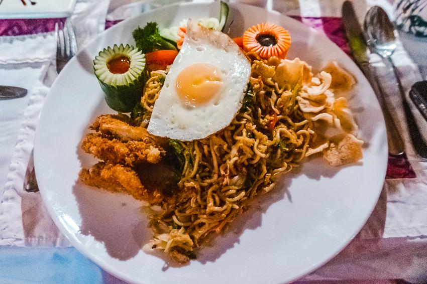 Things to do in Amed, Bali - dine at Komang John, Blue Moon Villas