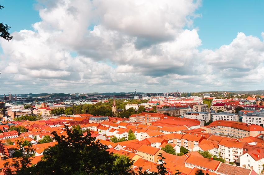 The best places to visit in 2020 - City views from Skansen Kronan in Gothenburg, Sweden