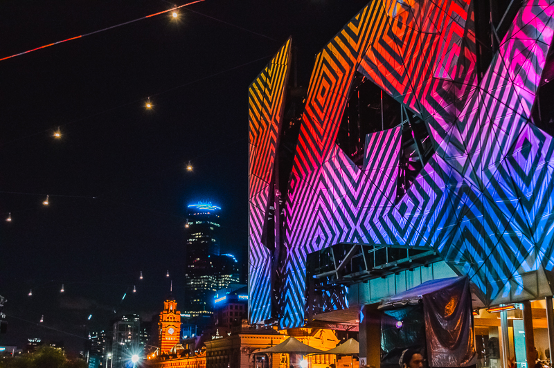 Things to do in Melbourne at night - go to a festival, like White Night Melbourne