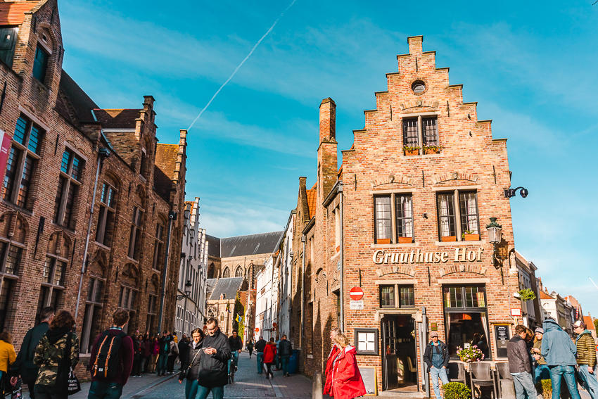 The best places to take photos in Bruges, Belgium - Gruuthuse Hof