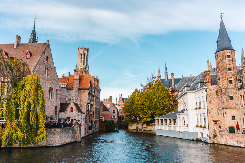 The best places to visit in Bruges - Rozenhoedkaai