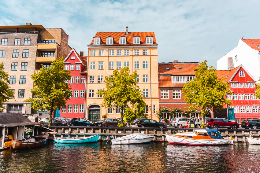 Free things to do in Copenhagen: go for a walk along the canals in Christianshavn.