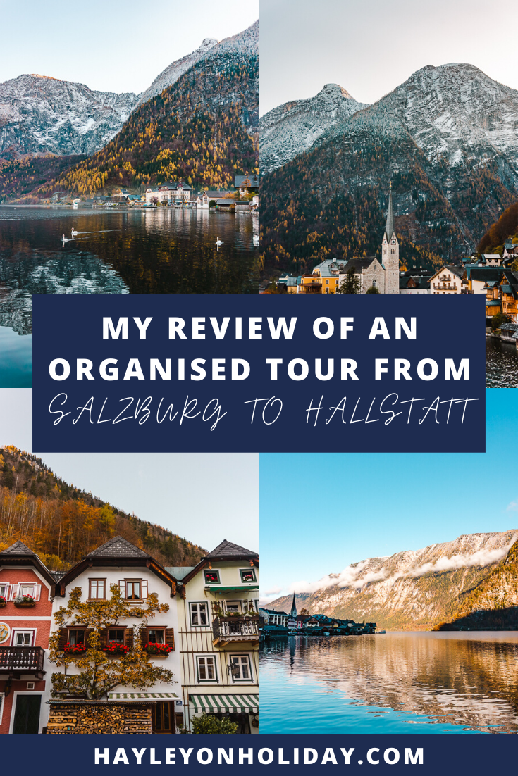 Day trips from Salzburg - here's my review of one of the only organised day tours from Salzburg to Hallstatt.