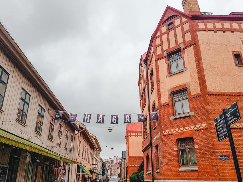 Wandering around Haga, one of Gothenburg's oldest neighbourhoods.