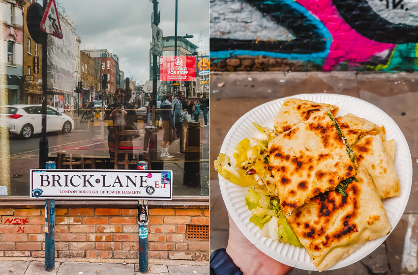 Things to do alone in London - Brick Lane Sunday Market