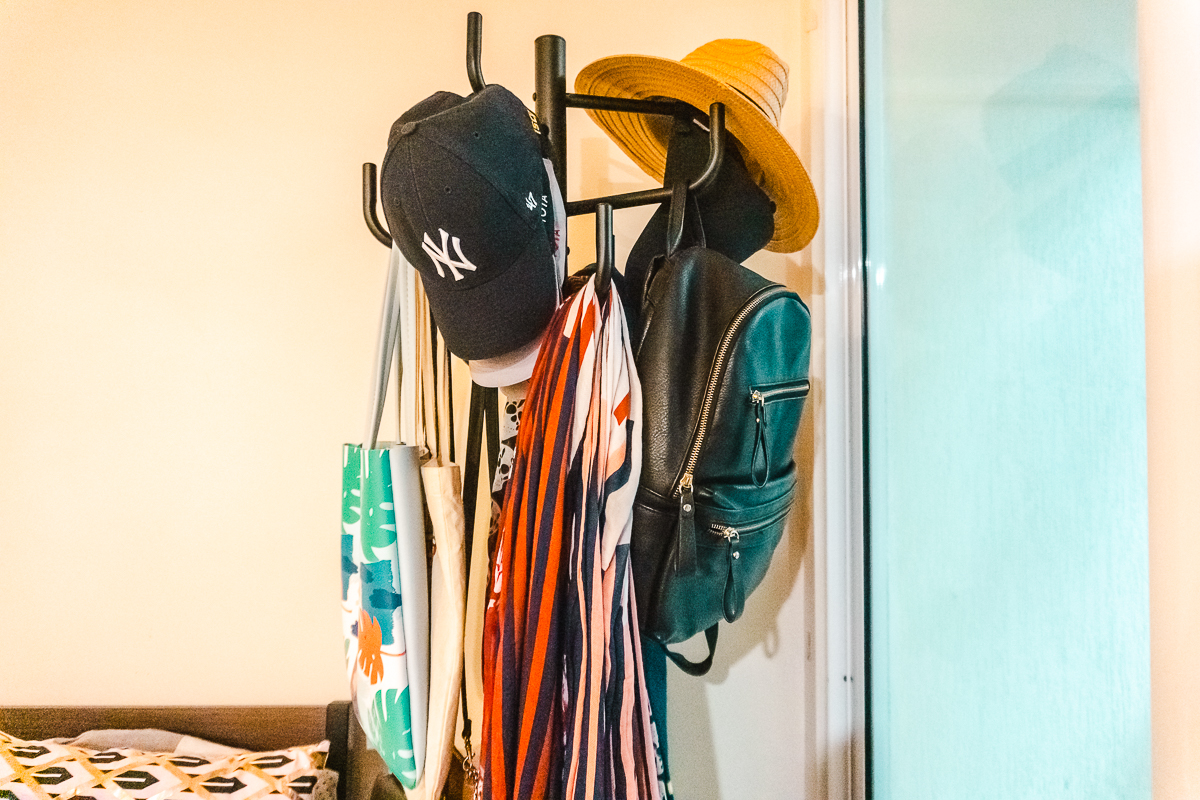 Bedroom decor ideas - hat stands with a difference