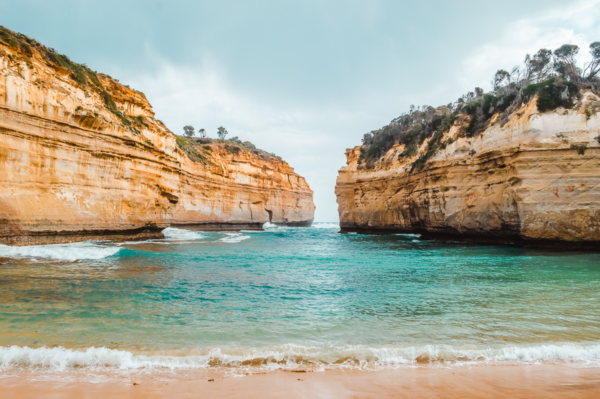 Loch Ard Gorge along the Great Ocean Road, one of the best day trips from Melbourne.