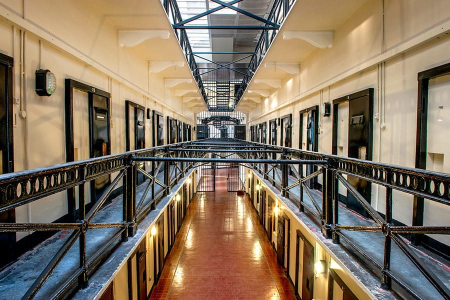 Inside Crumlin Road Gaol, one of the top things to do during a weekend in Belfast.